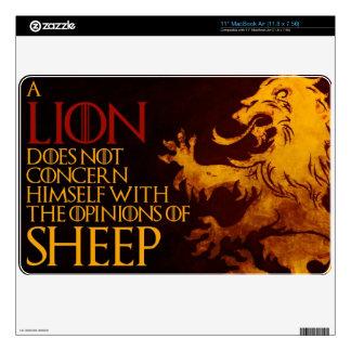 """Lion Sheep Skin - Macbook Air 11"""" 11"""" MacBook Air Decal"""