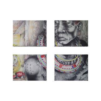 Lion Simba Maasai Lions Hakuna Matata Canvas Print