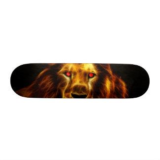 Lion Skateboard Deck