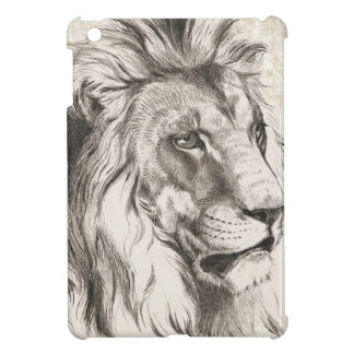 Lion Sketch Style Case For The iPad Mini