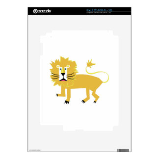 Lion Decal For iPad 2