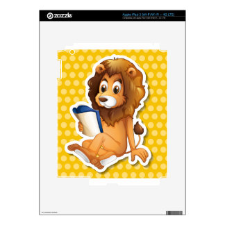 Lion Decals For iPad 3