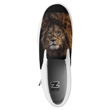 Lion Slip-On Sneakers
