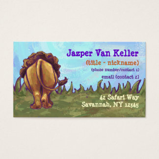 Lion Stationery Business Card