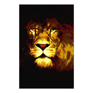 Lion Stationery Design