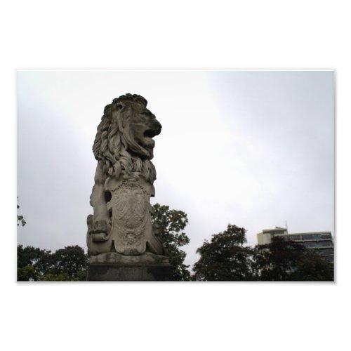 Lion statue, Kronenburger Park, Nijmegen