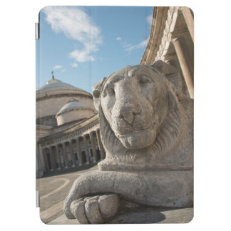 Lion statue in front of San Francesco di Paola iPad Air Cover