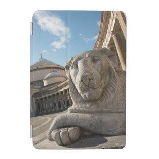 Lion statue in front of San Francesco di Paola iPad Mini Cover