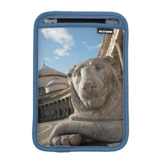 Lion statue in front of San Francesco di Paola Sleeve For iPad Mini