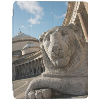 Lion statue in front of San Francesco di Paola iPad Smart Cover