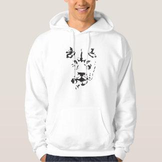 Lion stencil hoodie