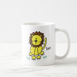 Lion Stick Figure Mug