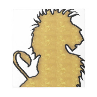 Lion Strength Notepad