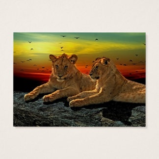 Lion Style Business Card