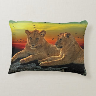 Lion Style Decorative Pillow