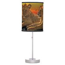 Lion Style Desk Lamp