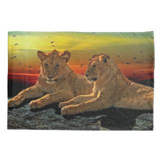 Lion Style Pillowcase