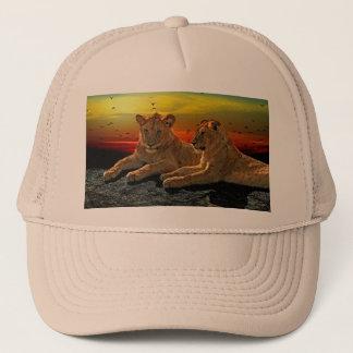 Lion Style Trucker Hat