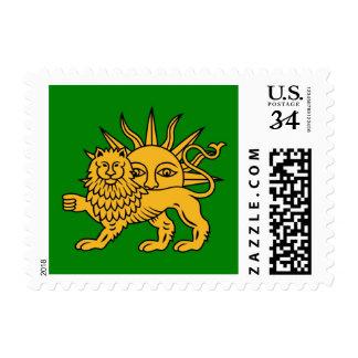Lion & Sun Stamp