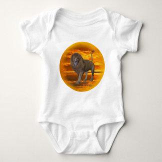 Lion Sunset Baby Bodysuit