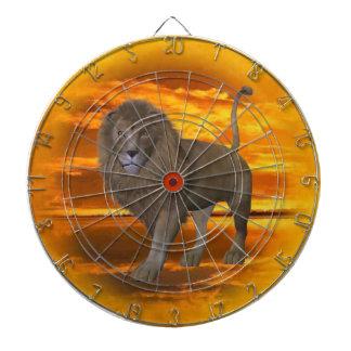 Lion Sunset Dartboard