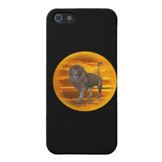Lion Sunset iPhone SE/5/5s Case