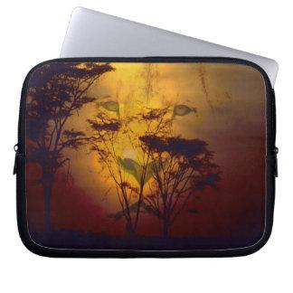 Lion Sunset Laptop Sleeve