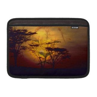 Lion Sunset MacBook Sleeve