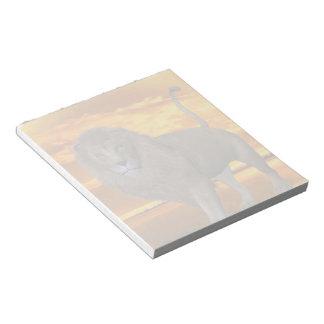 Lion Sunset Note Pad