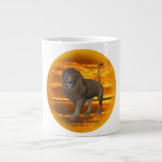 Lion Sunset Specialty Mug