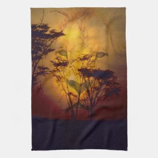 Lion Sunset Towel