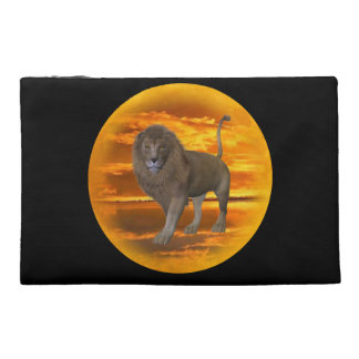 Lion Sunset Travel Accessories Bags