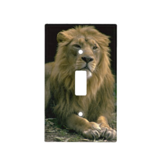 Lion Switch Plate Cover