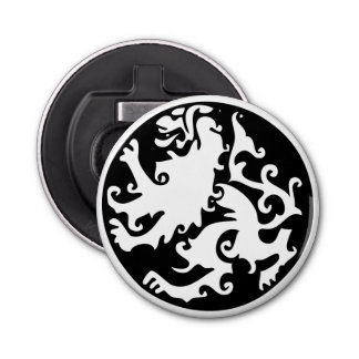 Lion Symbool Celtic Crest Griffin Logo Bottle Opener
