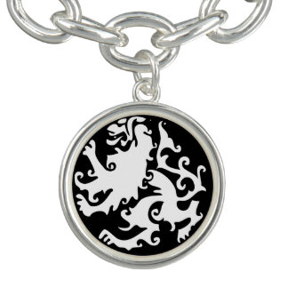 Lion Symbool Celtic Crest Griffin Logo Bracelets