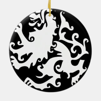 Lion Symbool Celtic Crest Griffin Logo Ceramic Ornament