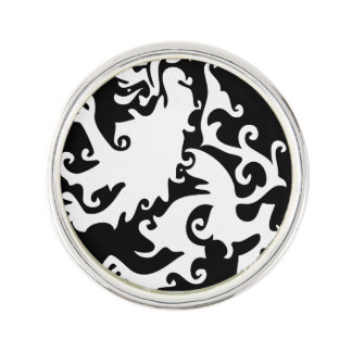 Lion Symbool Celtic Crest Griffin Logo Lapel Pin