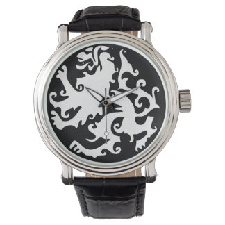 Lion Symbool Celtic Crest Griffin Logo Watches
