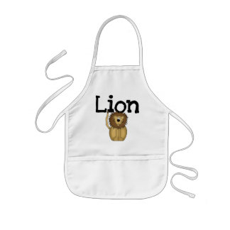 Lion T-shirts and Gifts Kids' Apron
