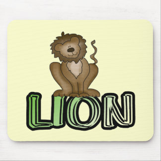 Lion T-shirts and Gifts Mouse Pad