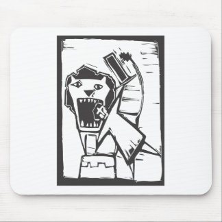 Lion Tamer Mouse Pad