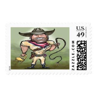 Lion Tamer Stamp