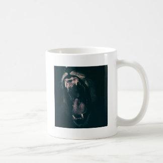 Lion Teeth Roar Fear Angry Roaring Strength Coffee Mug