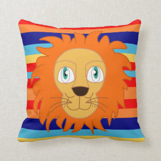 LION. The king of the house Throw Pillow