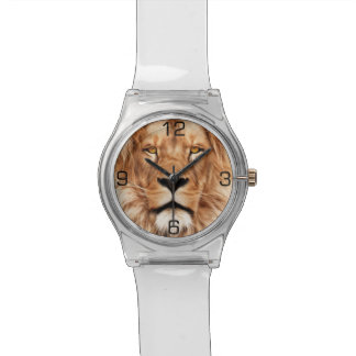 Lion The King Photo Painting Wristwatch