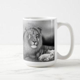 Lion & the Lamb Coffee Mug