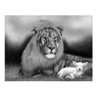 Lion & the Lamb Postcard