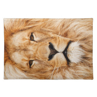LION THE WILD CLOTH PLACEMAT