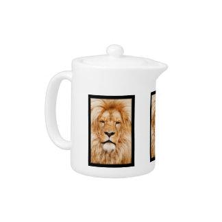 LION THE WILD TEAPOT