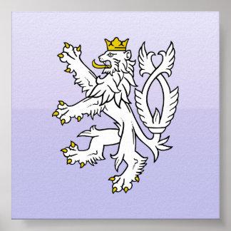 Lion theech Republic, Czech Posters